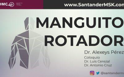 Manguito rotador. Dr Alexeys Pérez.